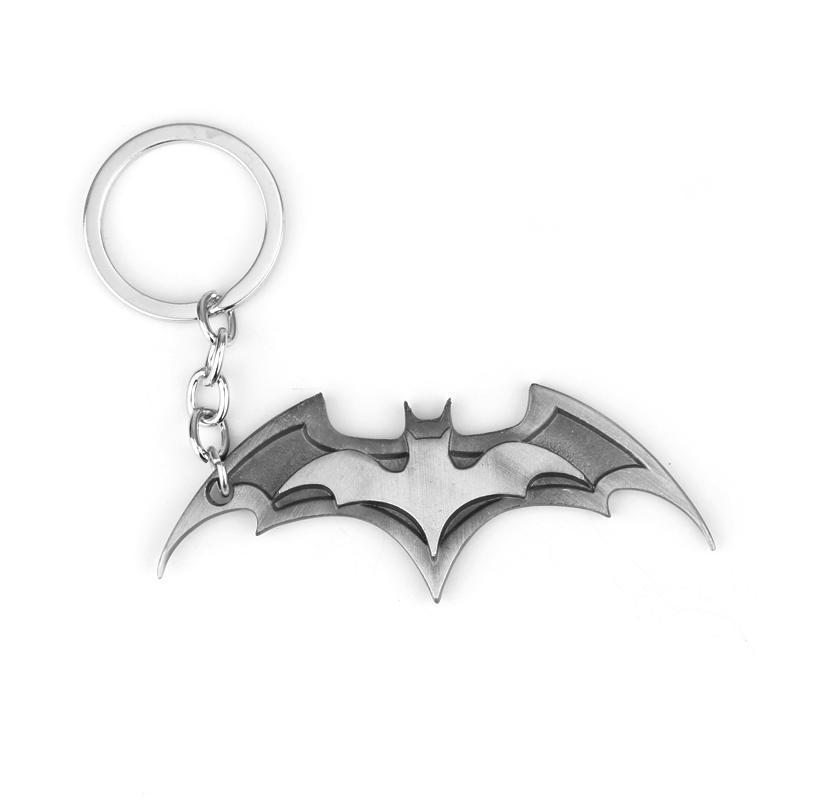 HTB1WUl baLN8KJjSZFvq6xW8VXa5 - 2019 New Fashion Avenger Union Batman keychains For Bag Key Holder Charm Hanging pendant Car Key Chains Key Ring Women & Men