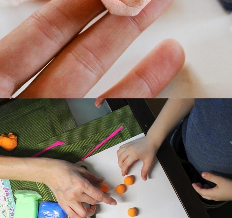 goma polímero argila antiestresse brinquedo
