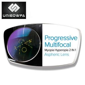 Image 1 - Multifocal Progressiveเลนส์1.56 1.61 1.67แว่นตาเลนส์Bifocal Opticalแว่นตากันแดดเลนส์สายตาสั้นสายตายาวClear