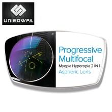 Multifocale Progressieve Lenzen 1.56 1.61 1.67 Bril Lens Bifocale Optische Zonnebril Lens Bijziendheid Verziendheid Clear