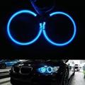 Белый Синий Красный Зеленый CCFL Angel Eyes для BMW E30 E32 E34 Фар с 4 шт. 120 ММ Гало Колец и 2 шт. CCFL инверторы балласт
