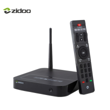Zidoo X8 Set top Box 4 Karat Android 6.0 64 bit Quad core CPU TV Box 2 GB DDR3 + 8 GB BT 4,0 4G/5G Dual WIFI HDMI 2,0 IPTV Media Player