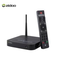Zidoo X8 Set Top Box 4K Android 6 0 64 Bit Quad Core CPU TV Box