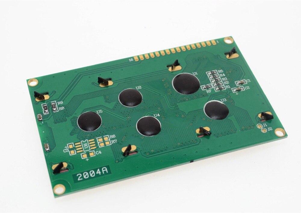 Tablero LCD 2004 20*4 LCD 20X4 5V, pantalla verde LCD2004, módulo LCD 2004