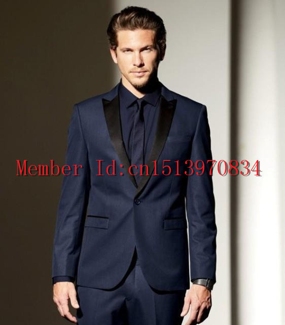 Online Get Cheap Navy Blue Men Wedding Suit 2015 -Aliexpress.com ...