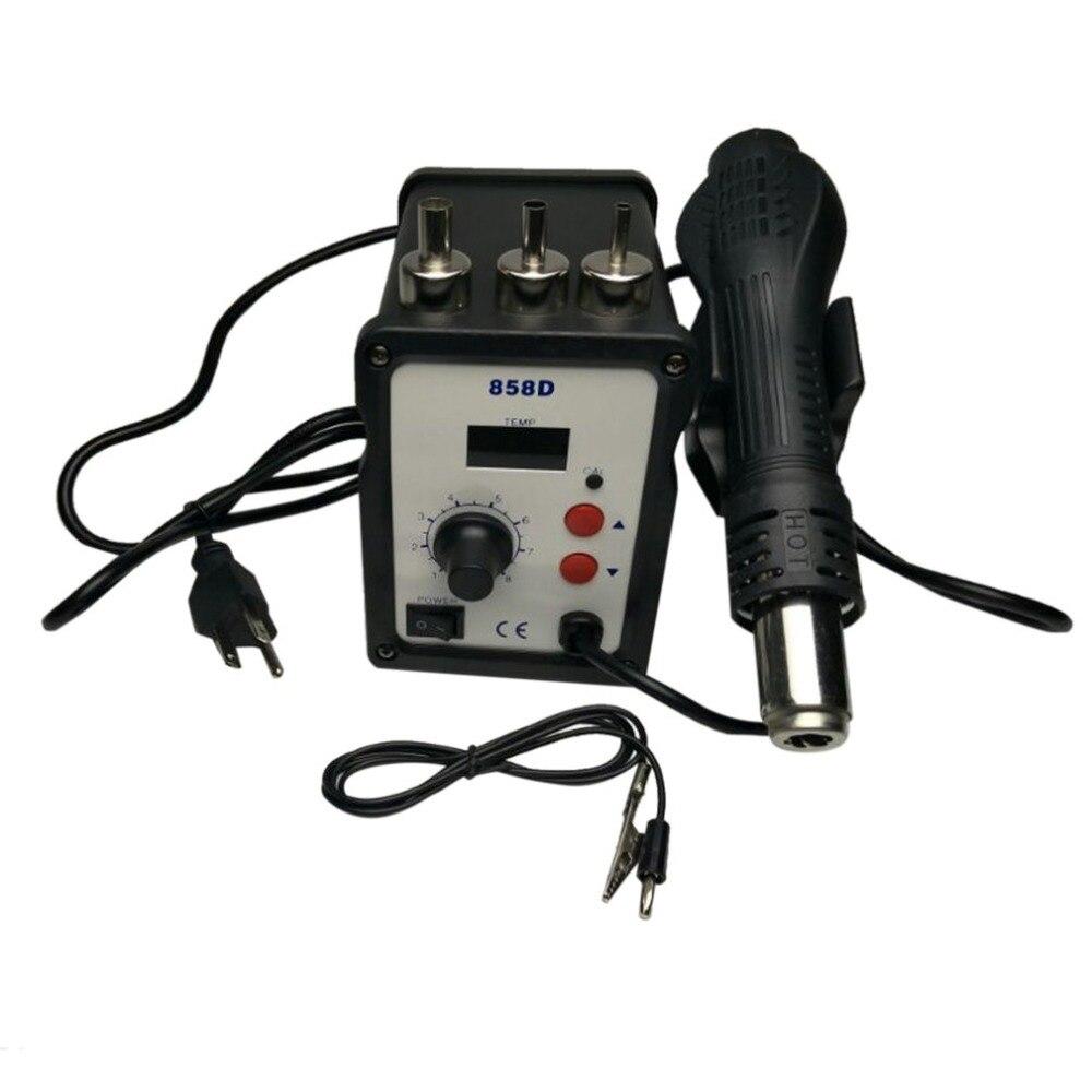 220V 700W Soldering Station Rework Digital SMD Rework Hot Air Gun Repair tools kit+ Electric Solder iron For Welding фильтр hammer 233 018