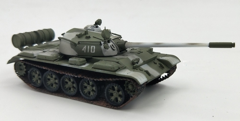 1:72 T55 Model Of Soviet Army T-55 Main Battle Tank  Trumpeter Finished Product Model 35026  Collection Model