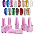 Transparent Sequins Uv Gel Nail Polish Nail Gel Nail Primer Shining Colorful Long lasting Gel Polishes Gel Nails Gelpolish