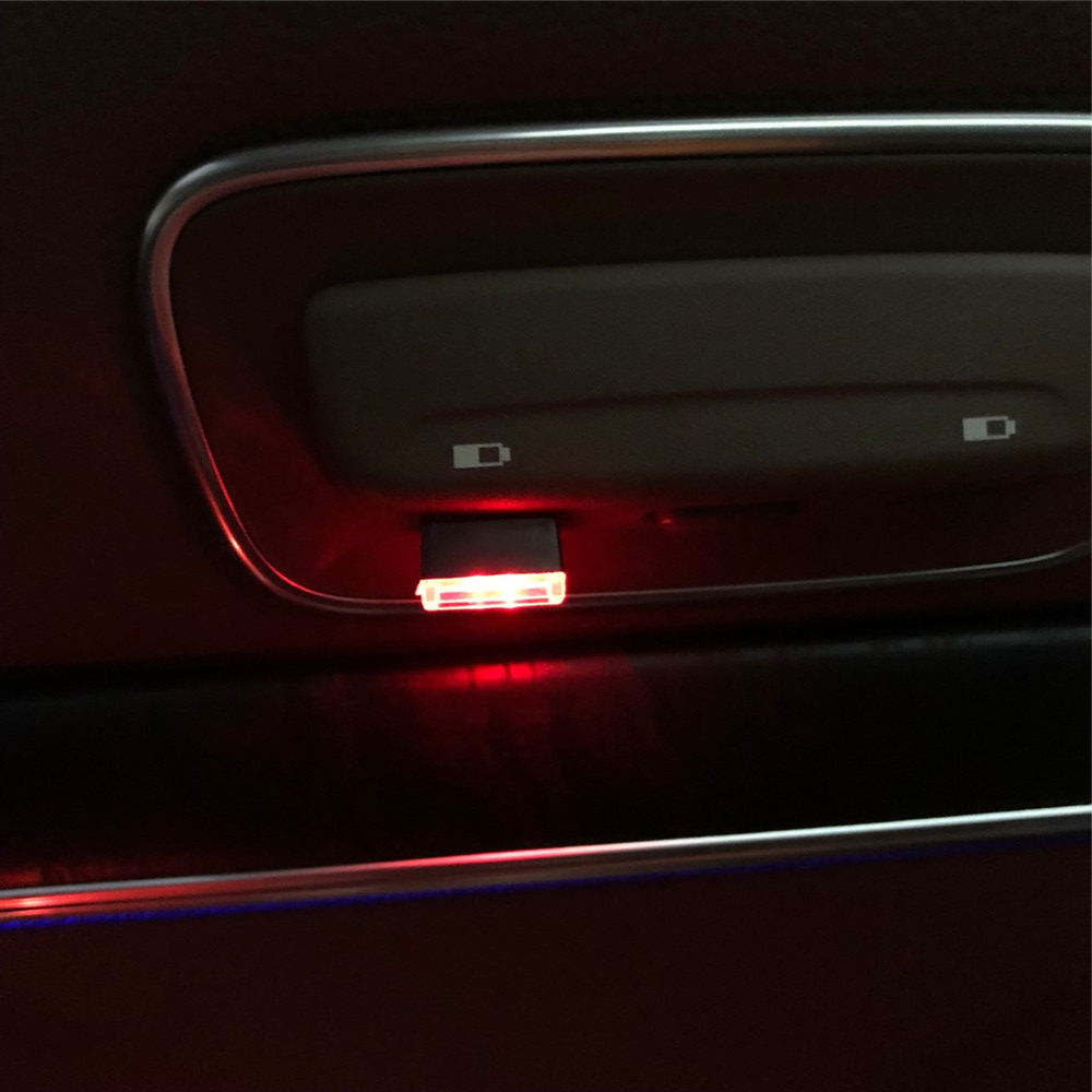 Bescheiden Auto Usb Led Sfeer Lamp Voor Chevrolet Volt Malibu Camaro Kobalt Orlando Spark Colorado Bolt Onix Traverse Blazer