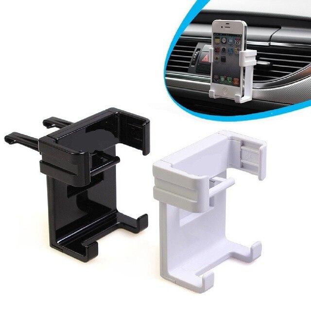 Dewtreetali soporte de coche para Iphone 6/Plus 5S soporte de montaje de ventilación de aire para coche accesorios GPS soporte para teléfonos móviles titular de la