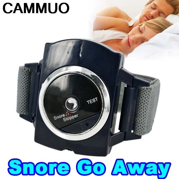 Electronic Snore Stopper Biosensor Anti Snore Wristband Watch Cessation Cure Solution Pure Sleeping Night Guard Aid Health Care