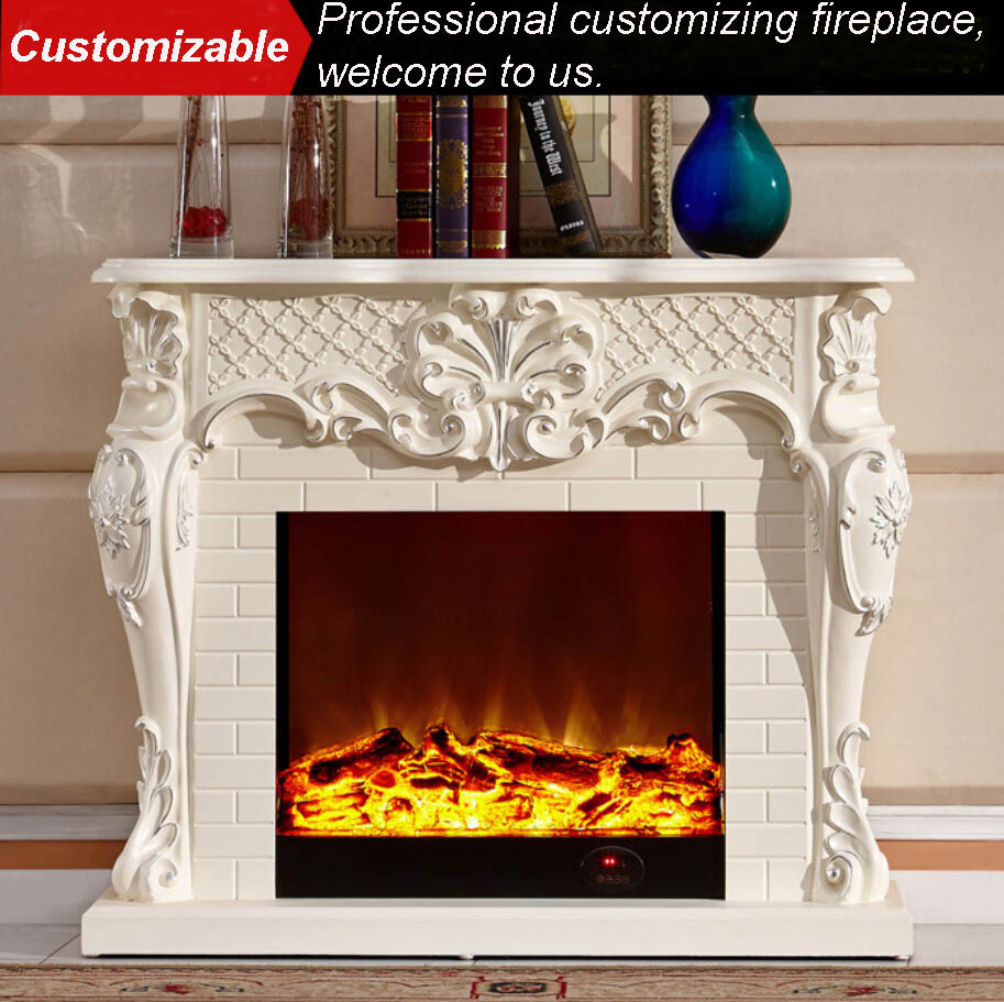 Online buy wholesale fireplace indoor from china fireplace for Luxury fireplace designs