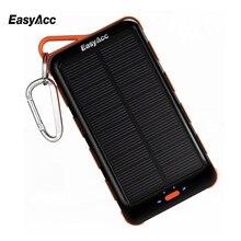 Easyacc 15000 мАч Запасные Аккумуляторы для телефонов с Панели солнечные и фонарик Внешний Батарея Портативный Зарядное устройство для Samsung HTC Планшеты
