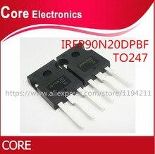 100 Cái/lốc IRFP90N20D IRFP90N20 FP90N20 90N20 TO247 MOSFET Bóng Bán Dẫn