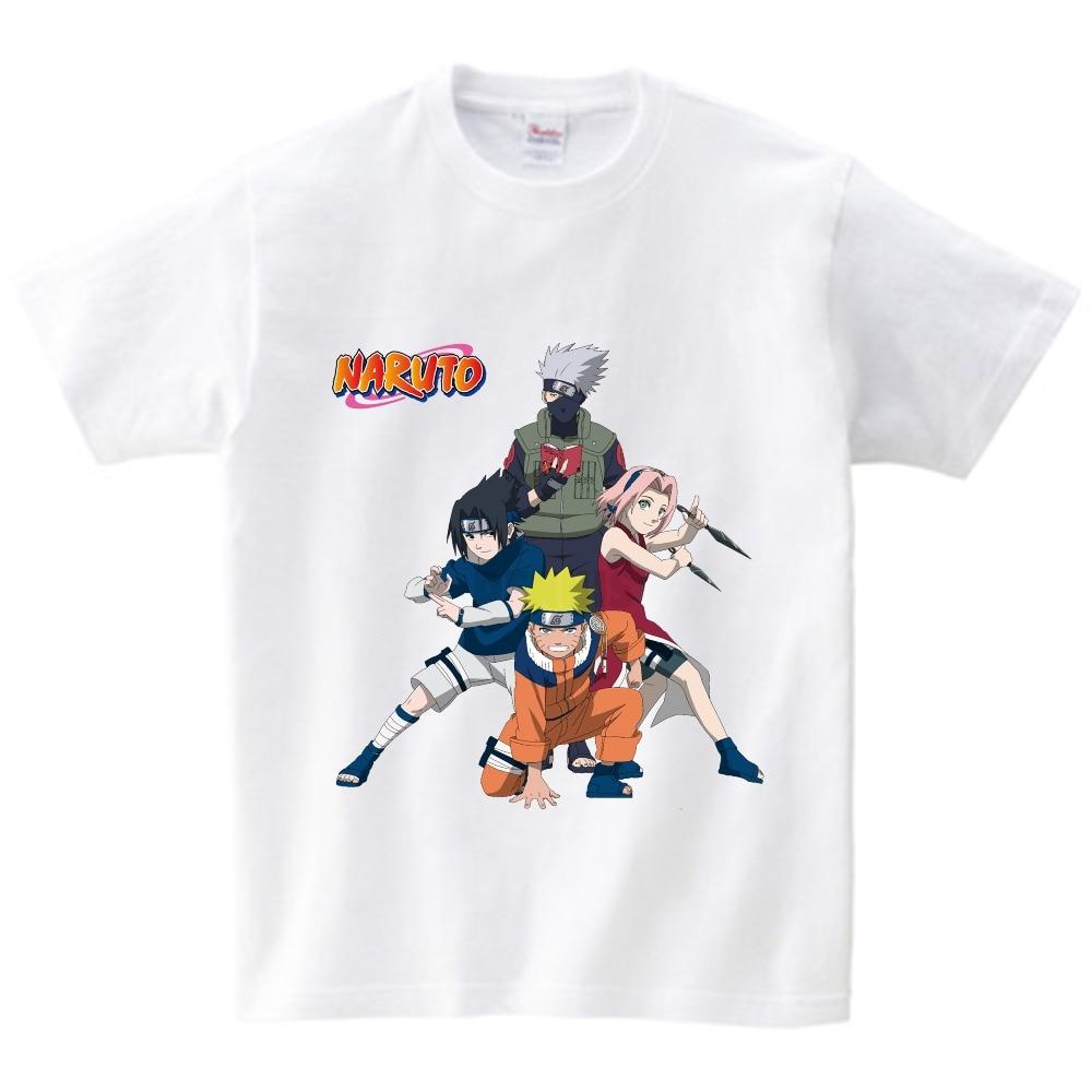 2018 summer Uzumaki Naruto Hokage Children 39 s T shirt cartoon short sleeves clothes baby boys and girls T shirt Hatake Kakashi in T Shirts from Mother amp Kids
