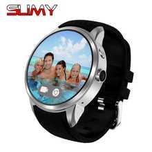 Viscoso X200 Smartwatch Relógio Inteligente Android 5.1 Bluetooth 3G Telefone 1 + 16 GB À Prova D' Água GPS Wifi Google Play loja de Suporte do Cartão SIM