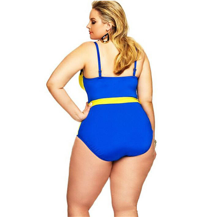 02a20ccc5e5de Women Underwire Bra Plus Size Swimwear Sexy One Piece Bikini High Waist  Swimsuit Adjustable Bandage Monokini -in Body Suits from Sports   Entertainment  on ...