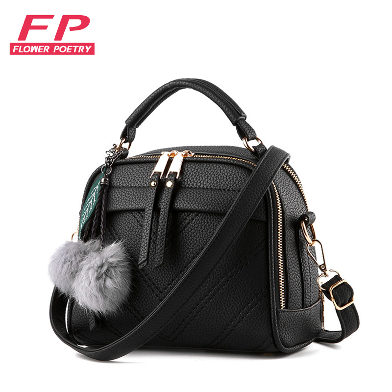 Hot Women Handbag Fashion Leather Shoulder Bags Small Casual Cross Body Bag Pendant Totes carteras mujer de hombro Bolsos 2016