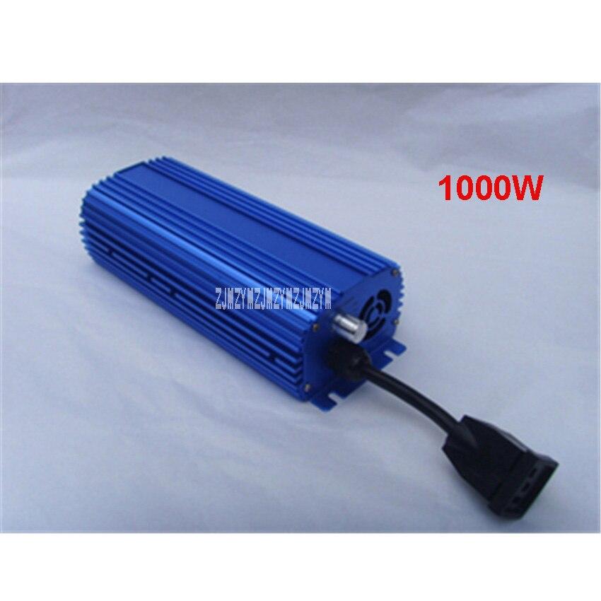 цена на New MH/HPS 1000W Dimmer Electronic Ballast With Power Cord Lighting Accessories Universal Ballast for MH & HPS bulbs 110V/220V
