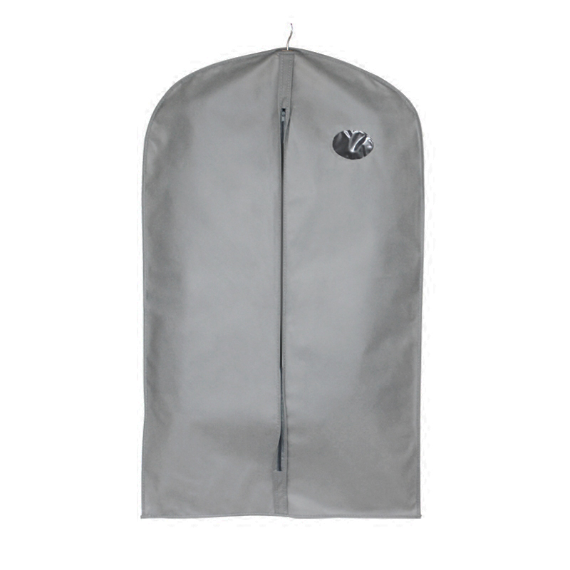Clothes Dust Cover with Zipper Storage Bag Garment Costume Protector Suit Case Home Organizer Non-woven Craft garment bag