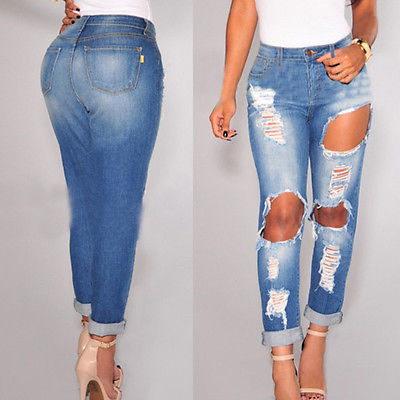 Destroyed Ripped Skinny Distressed Jeans Promotion-Shop for