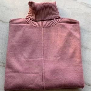 Image 5 - Autumn winter Knitted tracksuit Turtleneck sweatshirts Fashion Women Suit clothing 2 Piece set Knit pant Female Sporting suit