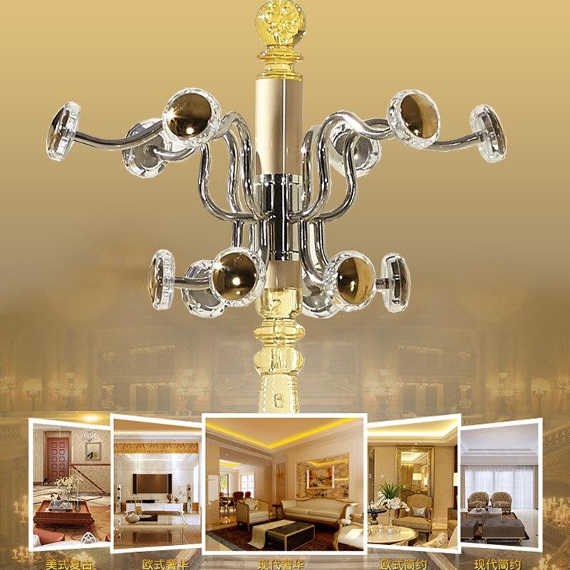 Европейский стиль алюминиевый сплав вращаясь hat стойку посадка модные спальня модно вешалка простой