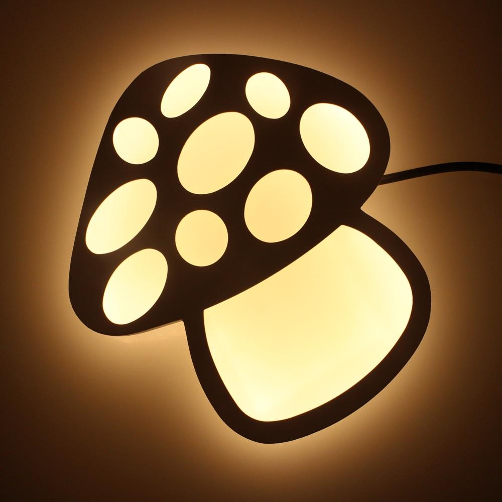 Mushroom Modern Led Wall Lights For Bedroom Balcony Kids Room ...