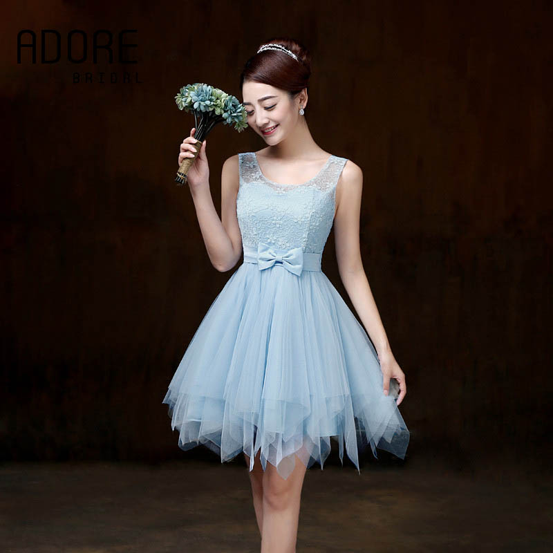 Popular Baby Blue Bridesmaids Dresses-Buy Cheap Baby Blue ...