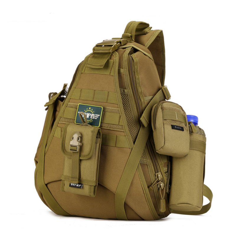 Tactical Military Sling Chest Pack Bag Molle Daypack Laptop Large Shoulder Bag For Hunting Camping 6 48 230 mm carbon vane for vacuum pump graphite plate block for vacuum pump becker