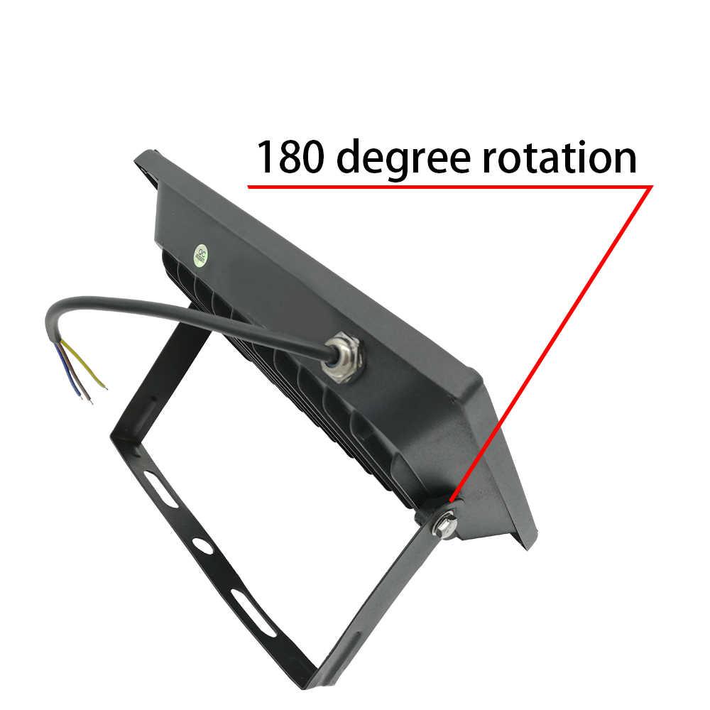 220 В 230 в 240 В Светодиодный промышленный светильник 10 Вт 20 Вт 30 Вт 50 Вт 100 Вт для заводской мастерской гаража IP65 Водонепроницаемый Рабочий СВЕТОДИОДНЫЙ светильник для горнодобывающей промышленности