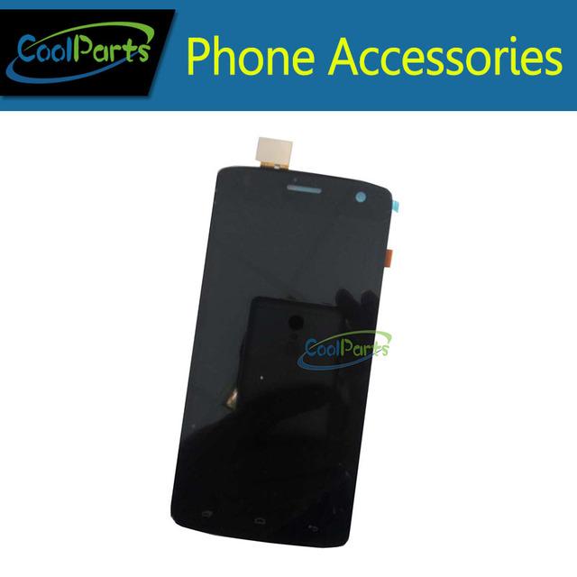 1 Pc/lote Alta Qualidade Para Fly IQ4503 Display LCD + Touch Screen Digitador Assembléia Preto e Branco a Cores 1 Pc/lote.