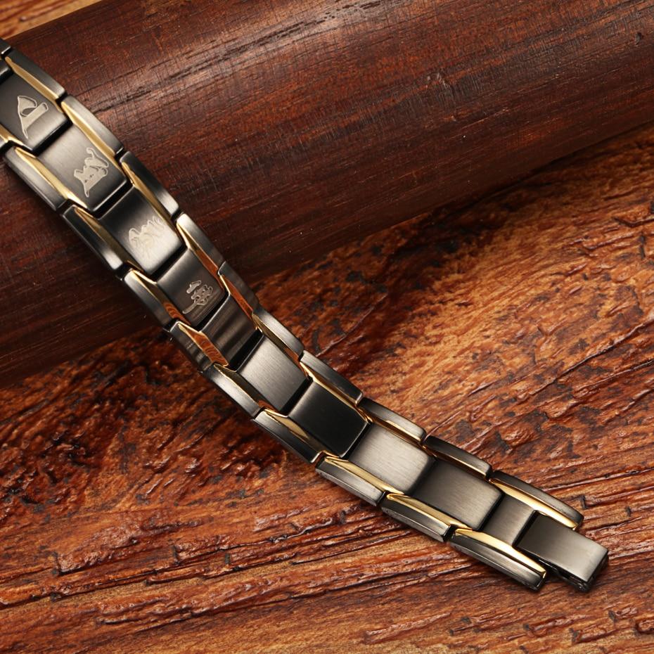 WelMag Magnetarmbänder & Armreifen verbessern die Durchblutung - Modeschmuck - Foto 4