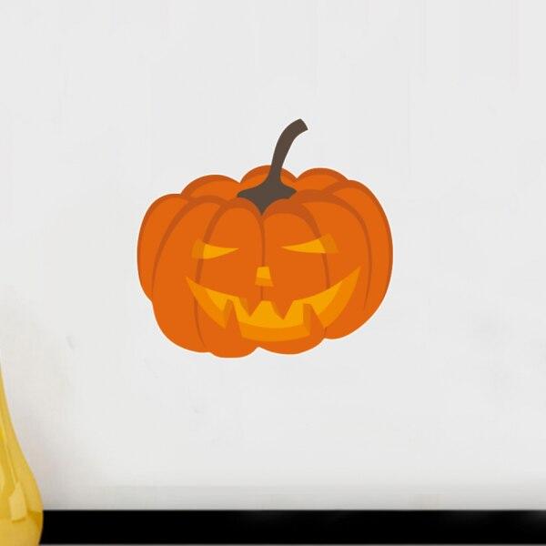 ٩(^‿^)۶Calabaza Halloween sonrisa pared La boda de hallowmas ...