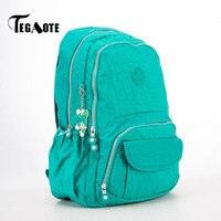 TEGAOTE Causal Women Backpack Waterproof Shoulder Bag Large Capacity School Bagpack Teenage Laptop Backpack Brand Female