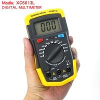2017 Hot Sale Hight Quality XC6013L Digital Multimeter Capacitance Capacitor Tester Gauge Test Tools Wprobes Meter