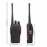 מכשיר הקשר 10 PCS Retevis H777 רדיו מכשיר הקשר 5W UHF400-470MHz 16CH Ham Radio Portable A9105A משדר Hf Comunicador רדיו שני הדרך (3)