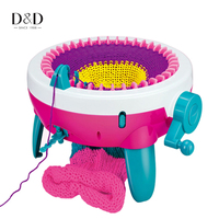 40 Needles Hand Knitting Machine Loom Toy Weaving Tool Crafts Maker Easy to Knit Scarf Hat Gloves and Socks Children Gifts