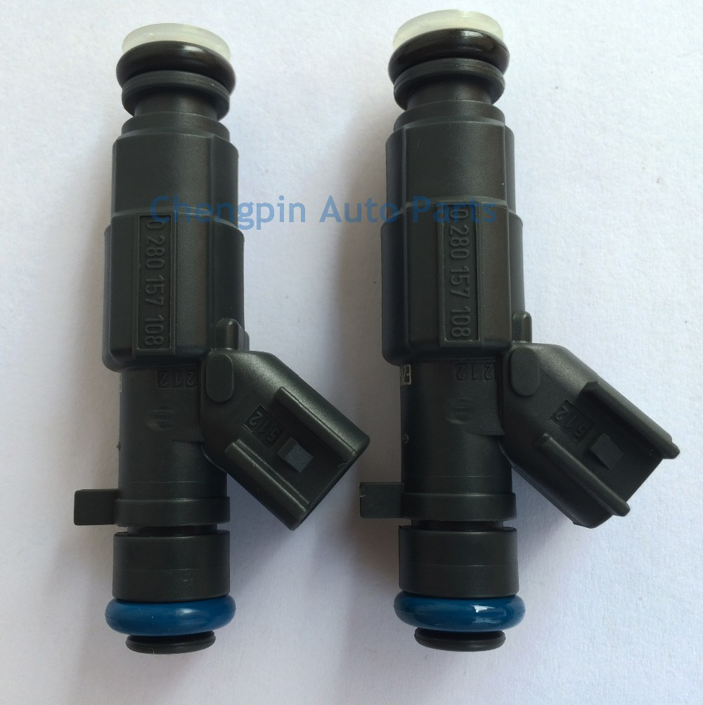 Auto Parts Fuel Injector OEM# 0280157108 9023783 Nozzle Replacement 6 holes For Buick SAIL1.4L
