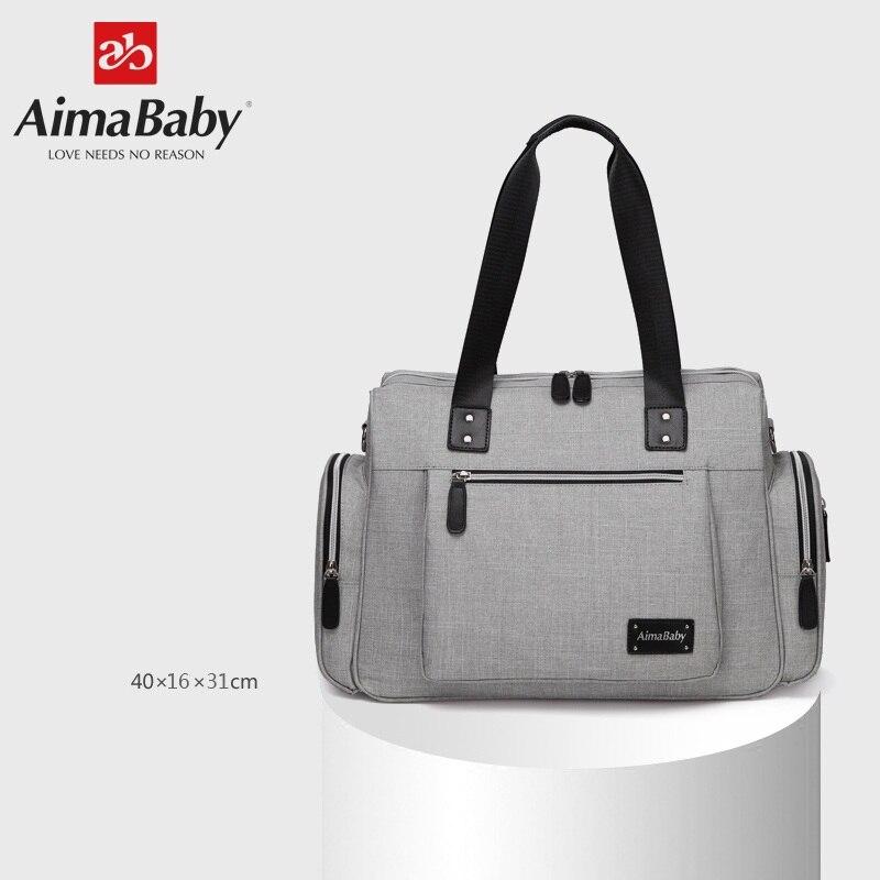 Grand sac à langer organisateur sacs à couches sacs de maternité pour mère bébé sac poussette sac à main sac à main Bolsa Maternidade - 3