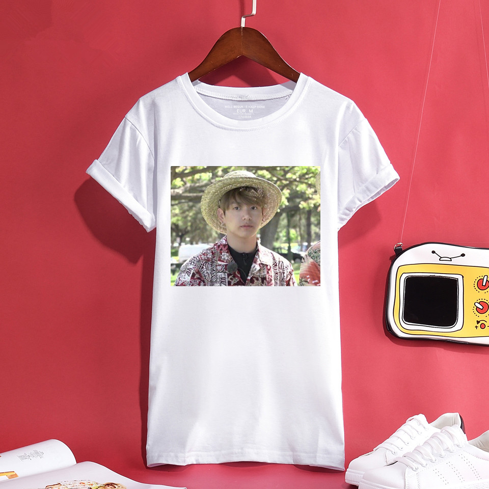 T-shirts Tops & Tees Nice A Love Yourself Short T-shirt Women Bangtan Boys Female Fans T-shirt Women Cotton Fashion K-pop Summer T-shirt Men/women 4xl We Have Won Praise From Customers