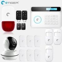 ETIGER S4 GSM PSTN Системы IOS приложение управления Android дома охранной сигнализации Системы умный дом движения Сенсор