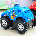 Color Random Cartoon encounter obstacles automatic turning steering speed electric toy car dump