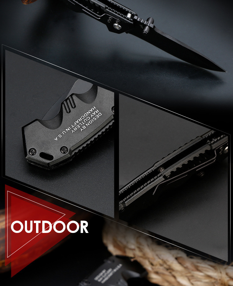 Folding Tactical Knife For Camping & Hunting 9