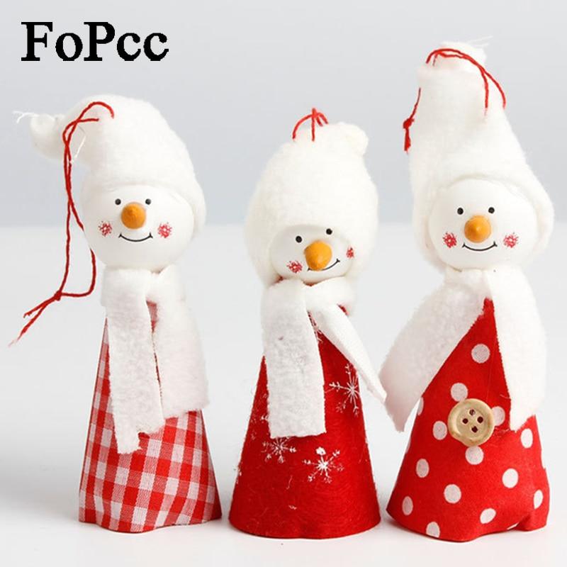 Christmas Tree Decorations Aliexpress: Aliexpress.com : Buy 3pcs Snowman Christmas Decorations