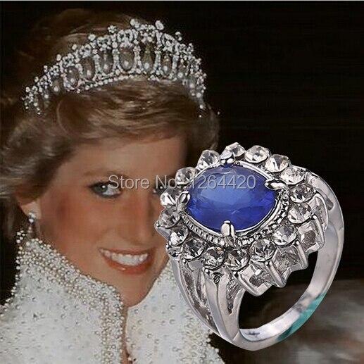 British Royal Family Princess Kate Engagement Ring Diana