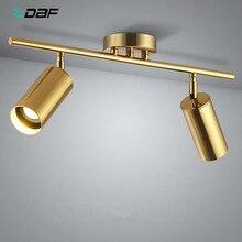 [DBF] Downlight de plafond monté par Surface rotatif de 360 degrés avec la lumière de tache de plafond d'ampoule de GU10 LED pour le fond de TV de Pic de cuisine