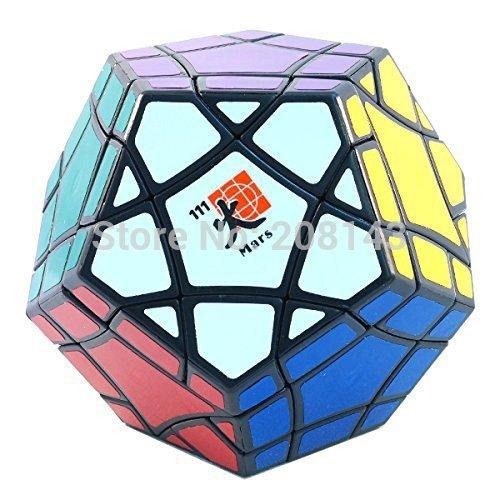 Mf8 bermudas Megaminx marte / tierra / Venus negro cubo mágico Puzzle Cube