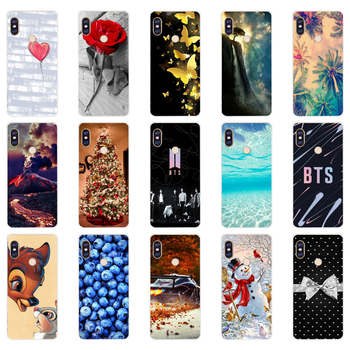 X silicone case For 5.99 inch Xiaomi Redmi Note 5 global pro Case Cover redmi note 5 Snapdragon 636 version note5 pro case image