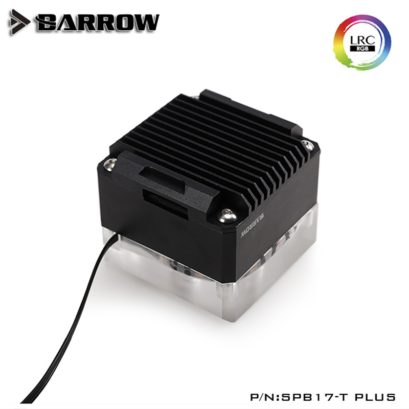 Купить с кэшбэком Barrow SPB17-T PLUS, PLUS version 17W PWM Pumps, With Aluminum Radiator Cover, For Barrow Waterway Board